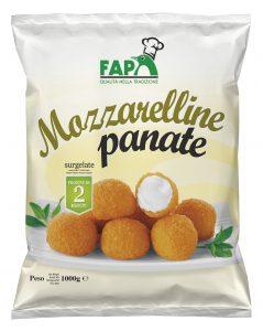 Mozzarelline Panate 1kg  surg.