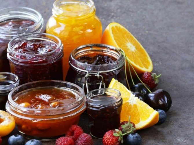Confetture marmellate miele e creme spalmabili