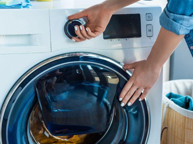 Lavaggio meccanico biancheria
