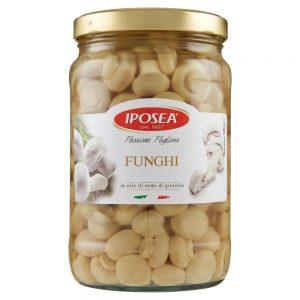 Funghi Champignon Interi in Olio Iposea 1600 g
