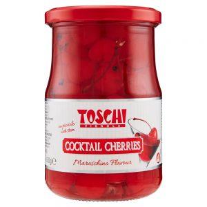 Ciliegie Rosse Cocktail Toschi 630 g
