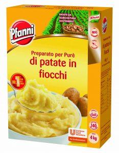Preparato per Purè di Patate in Fiocchi 4 Kg