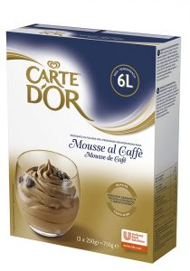 Mousse Caffè Carte d'Or 750 g