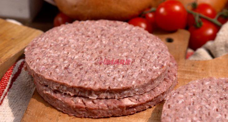 Hamburger 100% Carne Italiana Marr Selection 150 g (confezione da 6 kg)