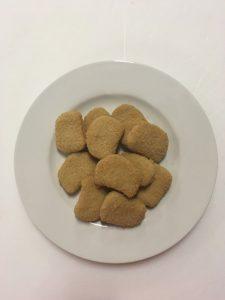 Birbe di Pollo Panate 20 gr  cong. (confezione 5 kg)